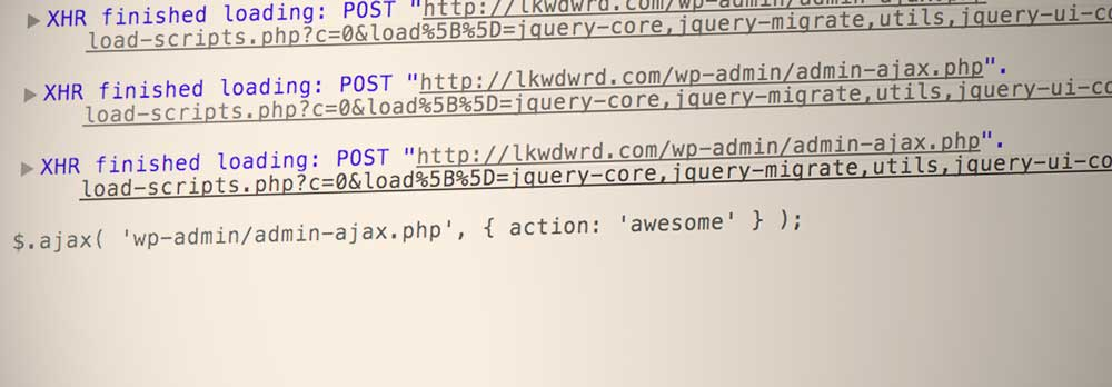 Using wp.ajax for Async Requests in WordPress - Luke on Everything